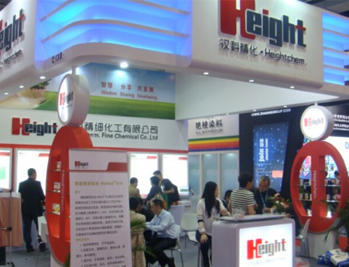 汉科滑挺增深硅油走红2014年上海印染展
